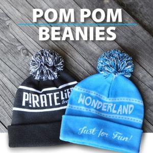 Custom Beanie with Pom Pom