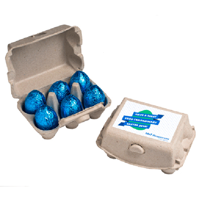 Easter is fast approaching awesome gift ideas for your clients cube with hard candy eggs negle Gallery